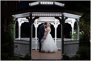 Gazebo Lighting - Birkby House - Virginia Couple