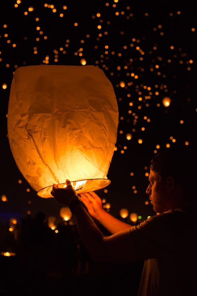 Lantern Fest Floating Lights Real Life Tangled Lydia Teague Photography
