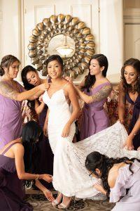 Piedmont-club-haymarket-september-fall-purple-dresses-dog-ringbearer