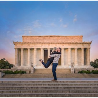 DC Memorials Engagement Session