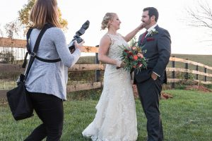 Loudoun County Photographer Couples Sunset Portraits at The Barn at Willow Brook