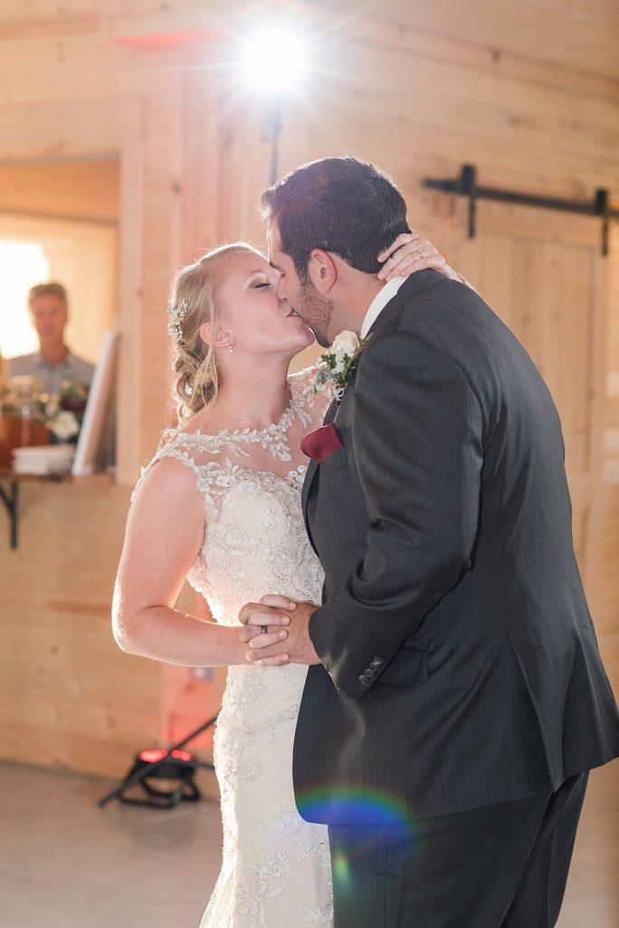 First Dance at The Barn at Willow Brook