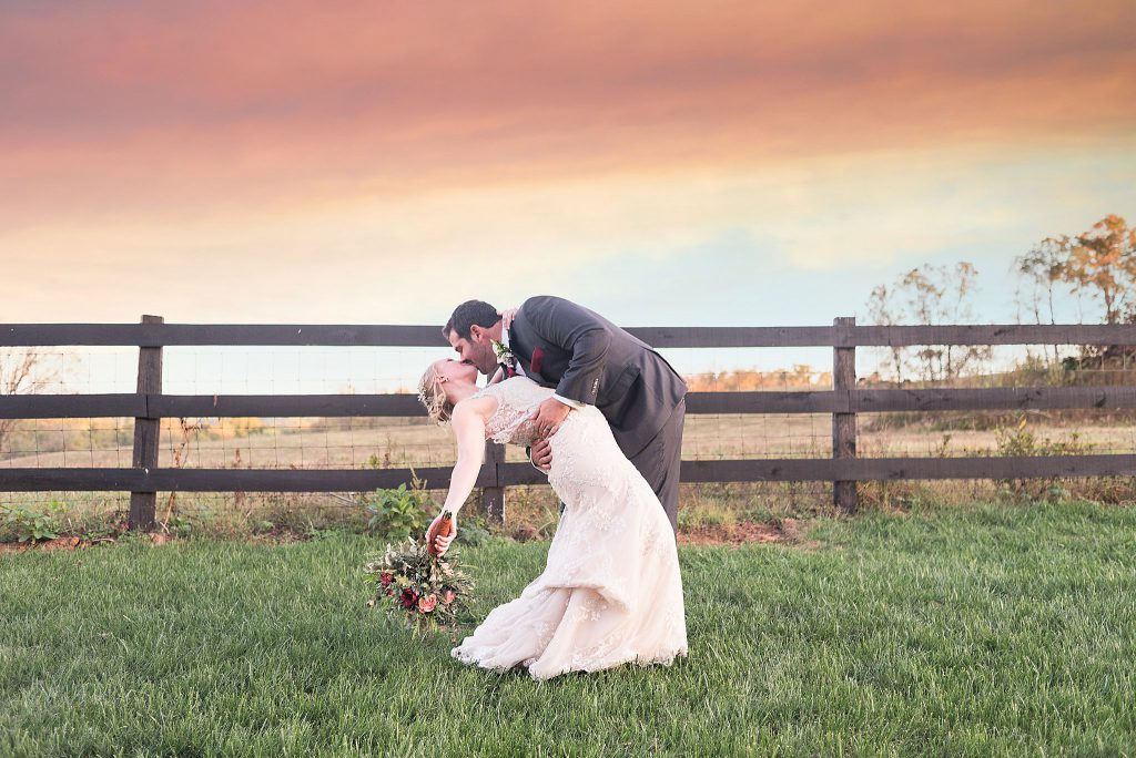 Sunset Portraits at The Barn at Willow Brook
