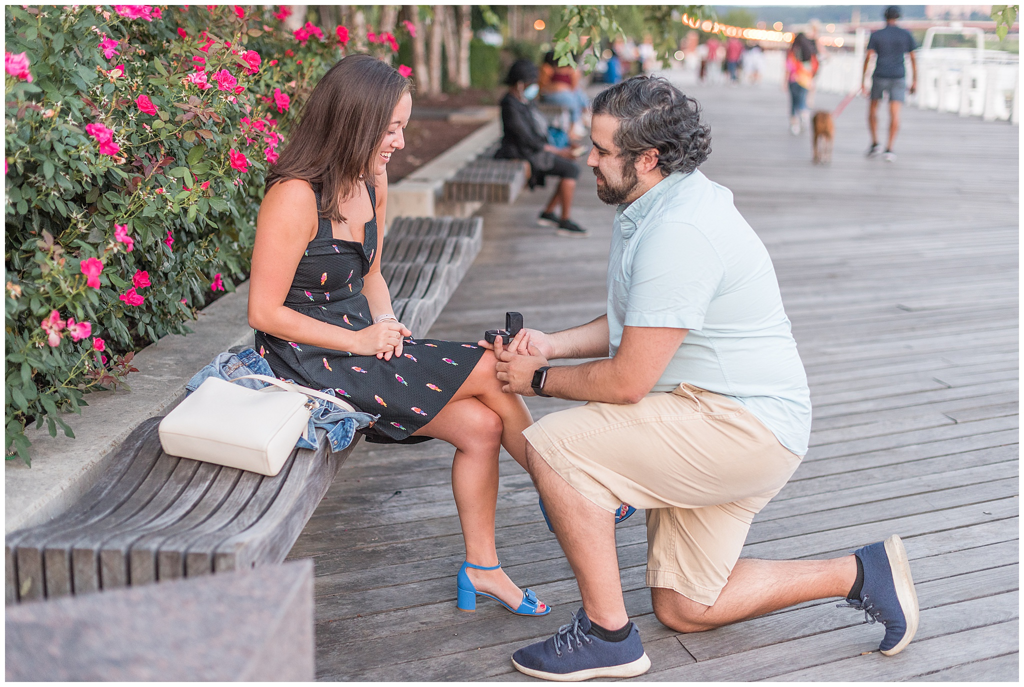 Proposal in DC at District Winery and Marina
