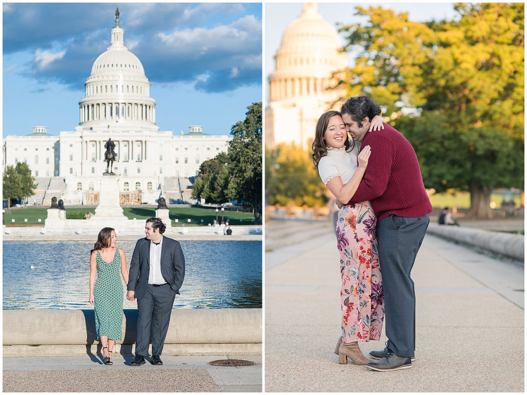 United States Capitol Building Engagement Session
