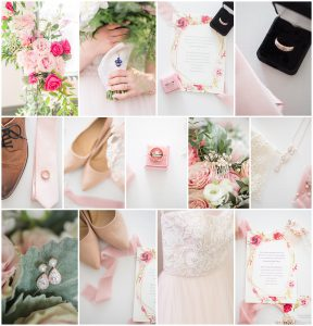 Shades of Pink Florals and Neutrals
