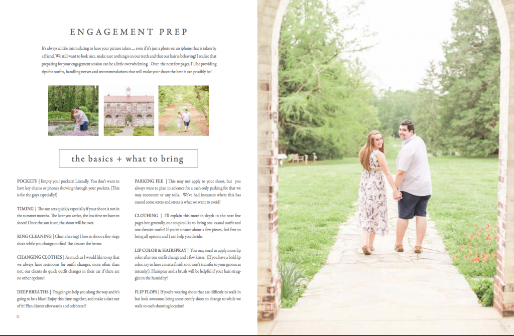 The Wedding Experience Sample Page